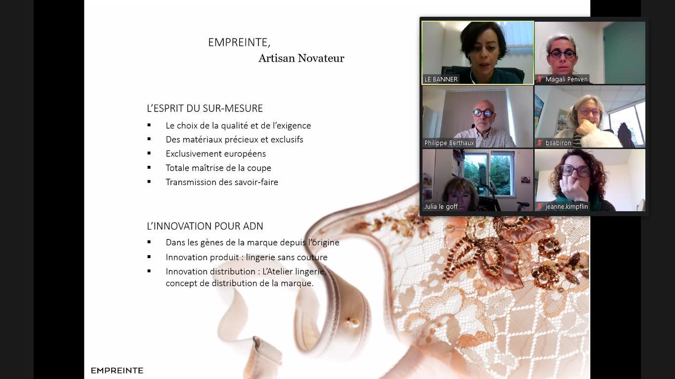 Visite virtuelle de l'entreprise Empreinte
