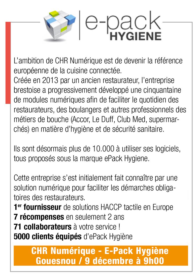 Inscription E-Pack Hygiène, 9 déc., 9h00, Gouesnou