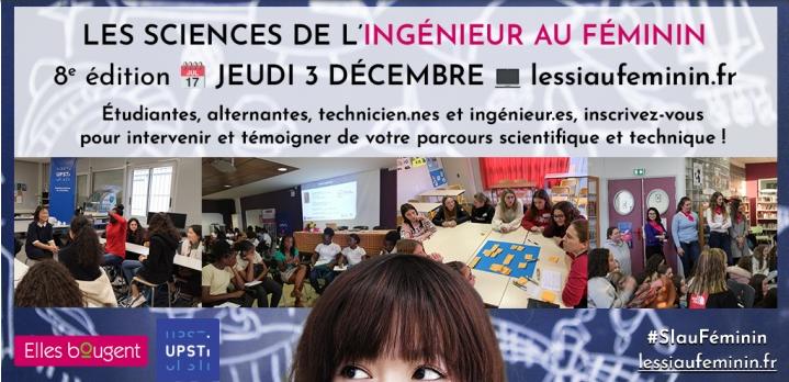 Sciences de l'Ingénieur au Féminin, édition 2020