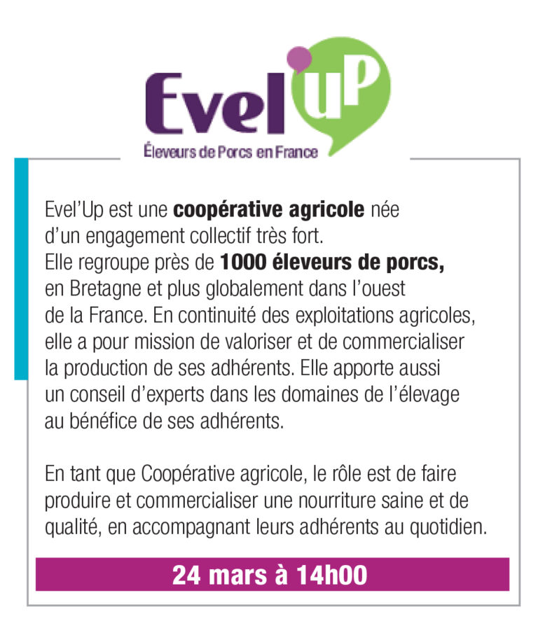 Evel'Up – 24 mars 14h00