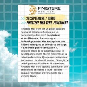 Inscription Finistère Mer Vent – Mercredi de l'entreprise, 29 sept. 10h00 Fouesnant